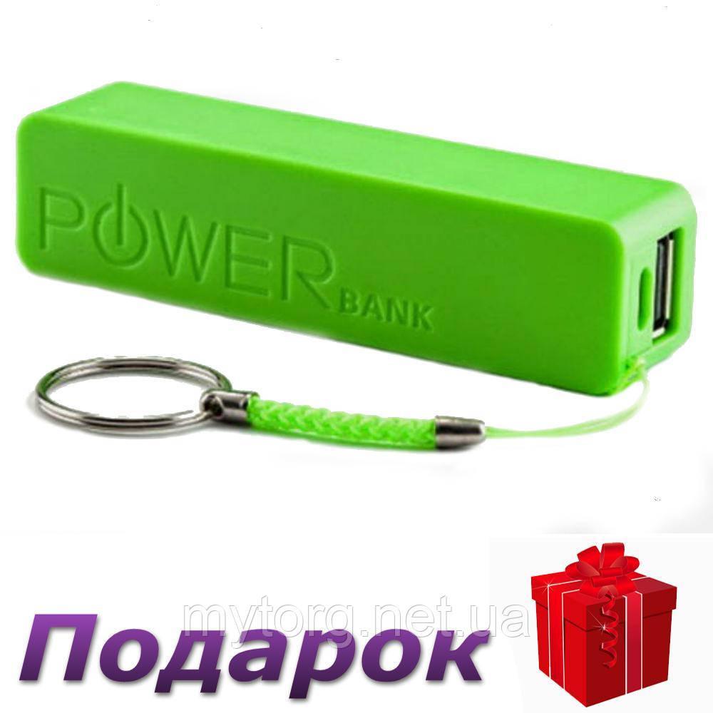 Кейс Power Bank для аккумулятора 18650 Без аккумулятора Зеленый