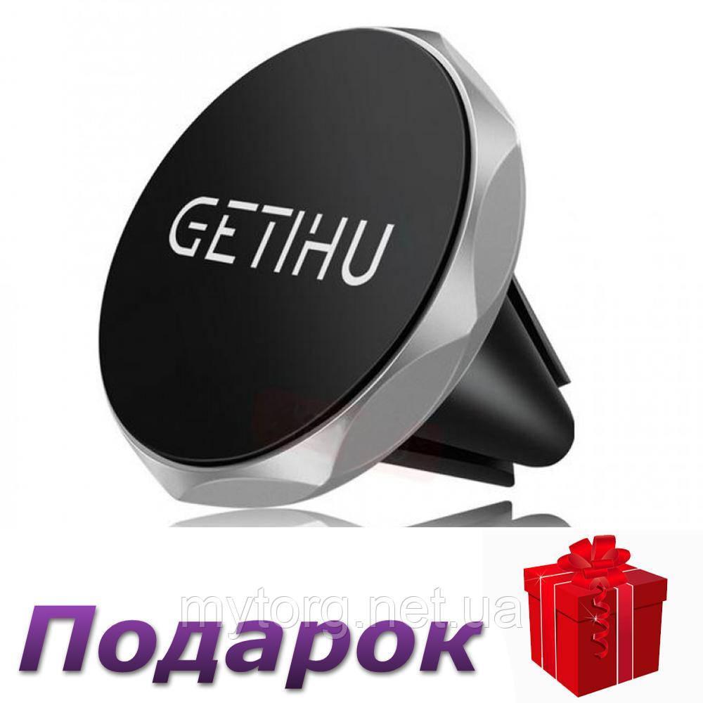 Автомобильный держатель телефона GETIHU  Серебристый