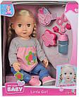 Кукла Нью Борн Беби Маленькая девочка с функцией слез,  Simba 5030055 Simba, фото 3