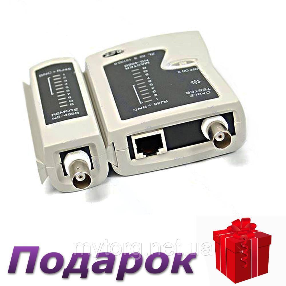 Многофункциональный тестер кабеля RJ11 RJ45 BNC