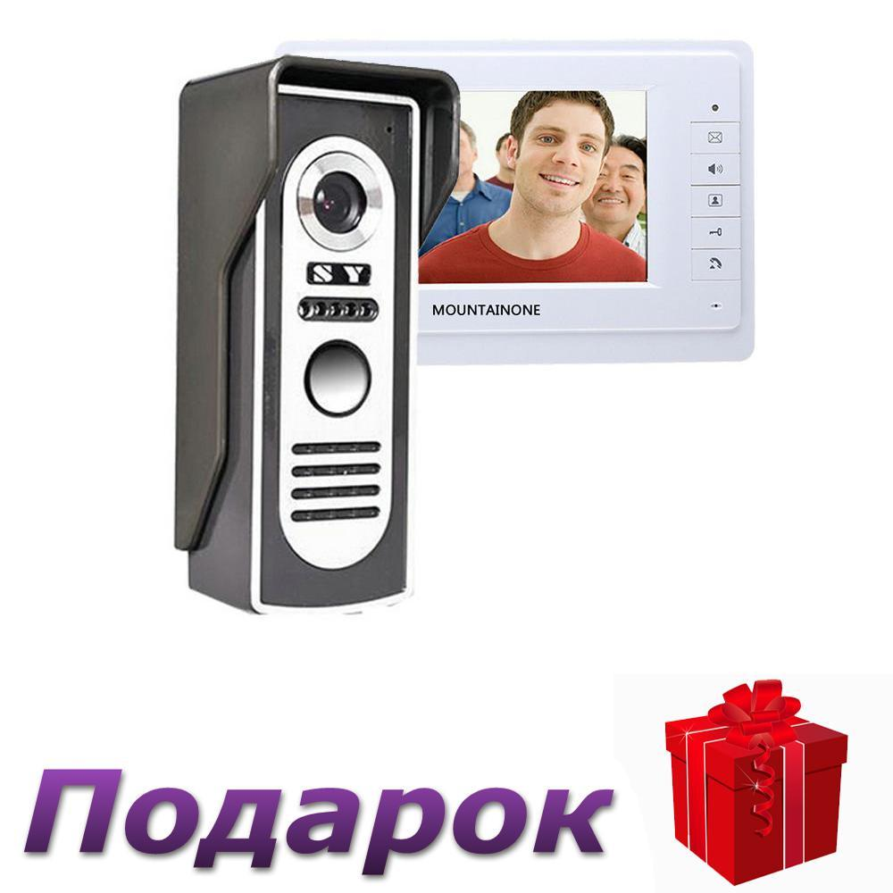 Видео домофон с монитором 7 дюймов SY819M11