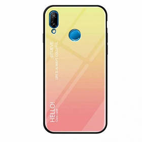 Чехол Gradient Hello для Huawei P Smart Plus
