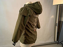 Длинная детская курточка зимний пуховик на ребенка HBA, фото 2
