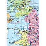 United Kingdom. Физическая  карта. Политико-административная карта, м-б 1:1 500 000 (на картоне и планках), фото 3