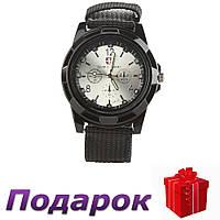 Мужские часы Swiss Army  Черный с серебристым, фото 1