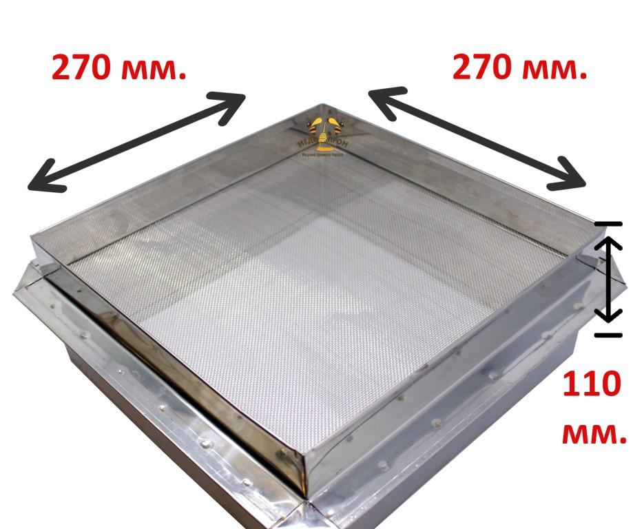 Фильтр для куботейнера оцинкованный