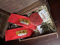 Набор классического красного чая в шкатулке, фото 1