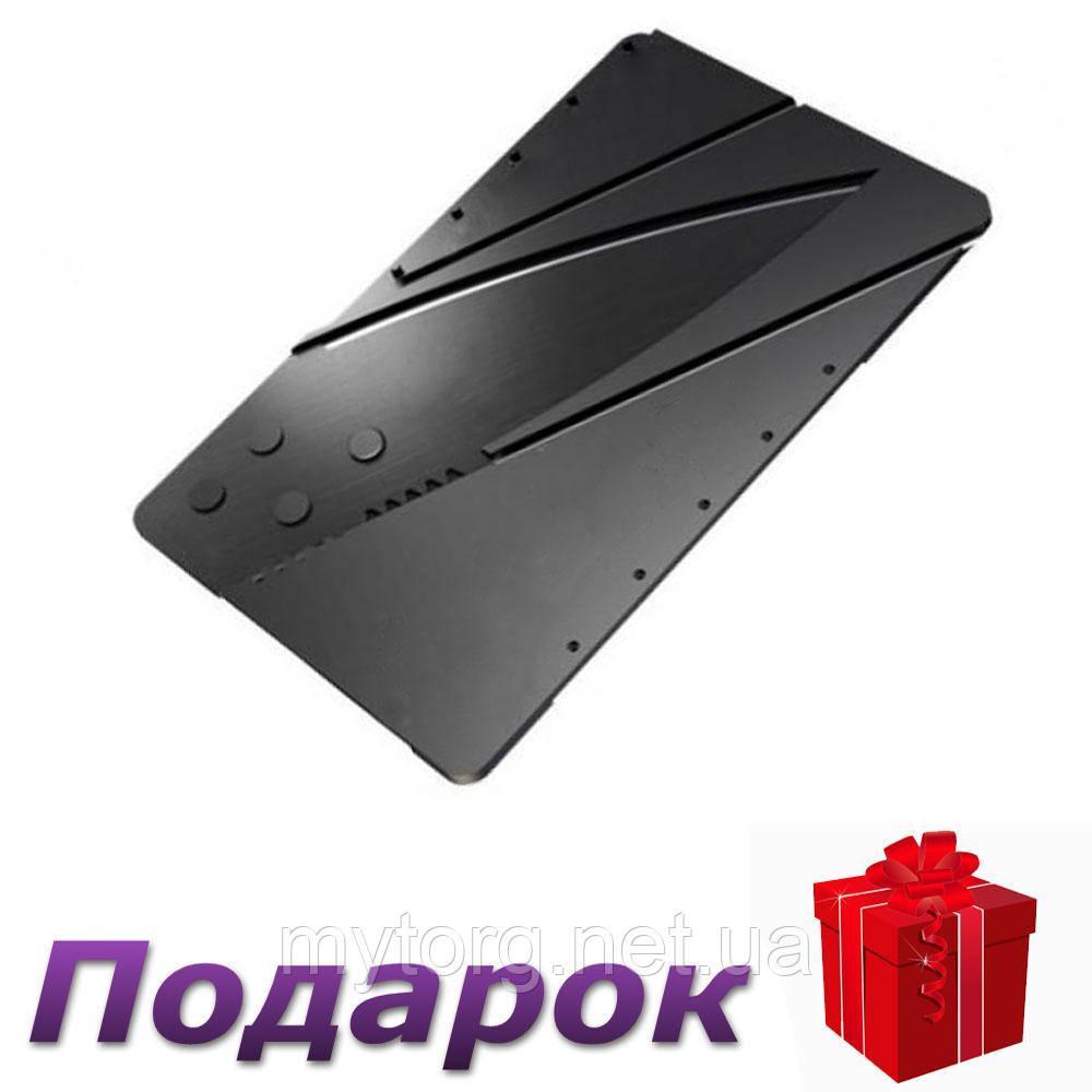 Складной нож трансформер SerGenius, нож-кредитка