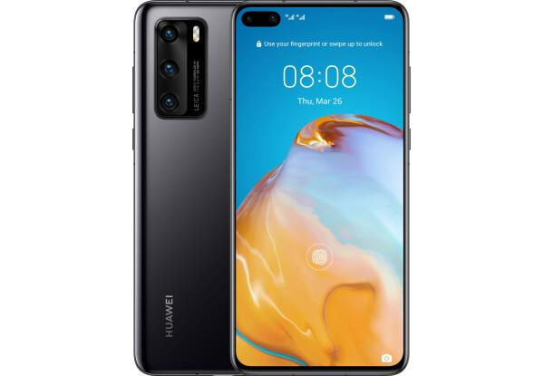 Смартфон Huawei P40 8/128GB Black HiSilicon Kirin 990 3800 мАч
