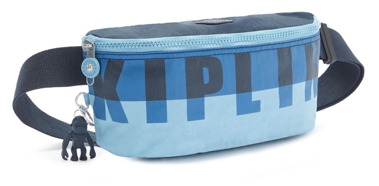 Сумка на пояс Kipling Basic Fc, голубая
