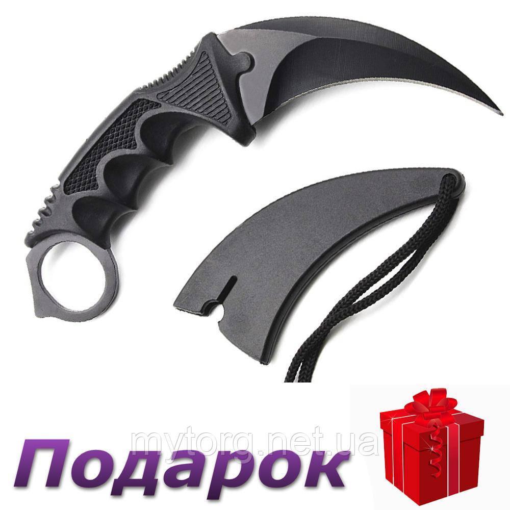 Охотничий нож Керамбит Vastar  Черный