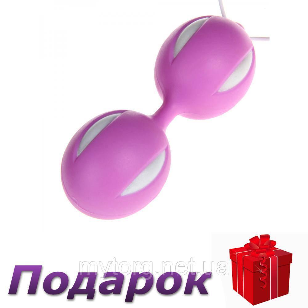 Вагинальные шарики Smart Geisha Balls 3,5 см х 10 см Фиолетовый