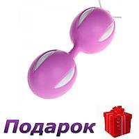 Вагинальные шарики Smart Geisha Balls 3,5 см х 10 см Фиолетовый, фото 1
