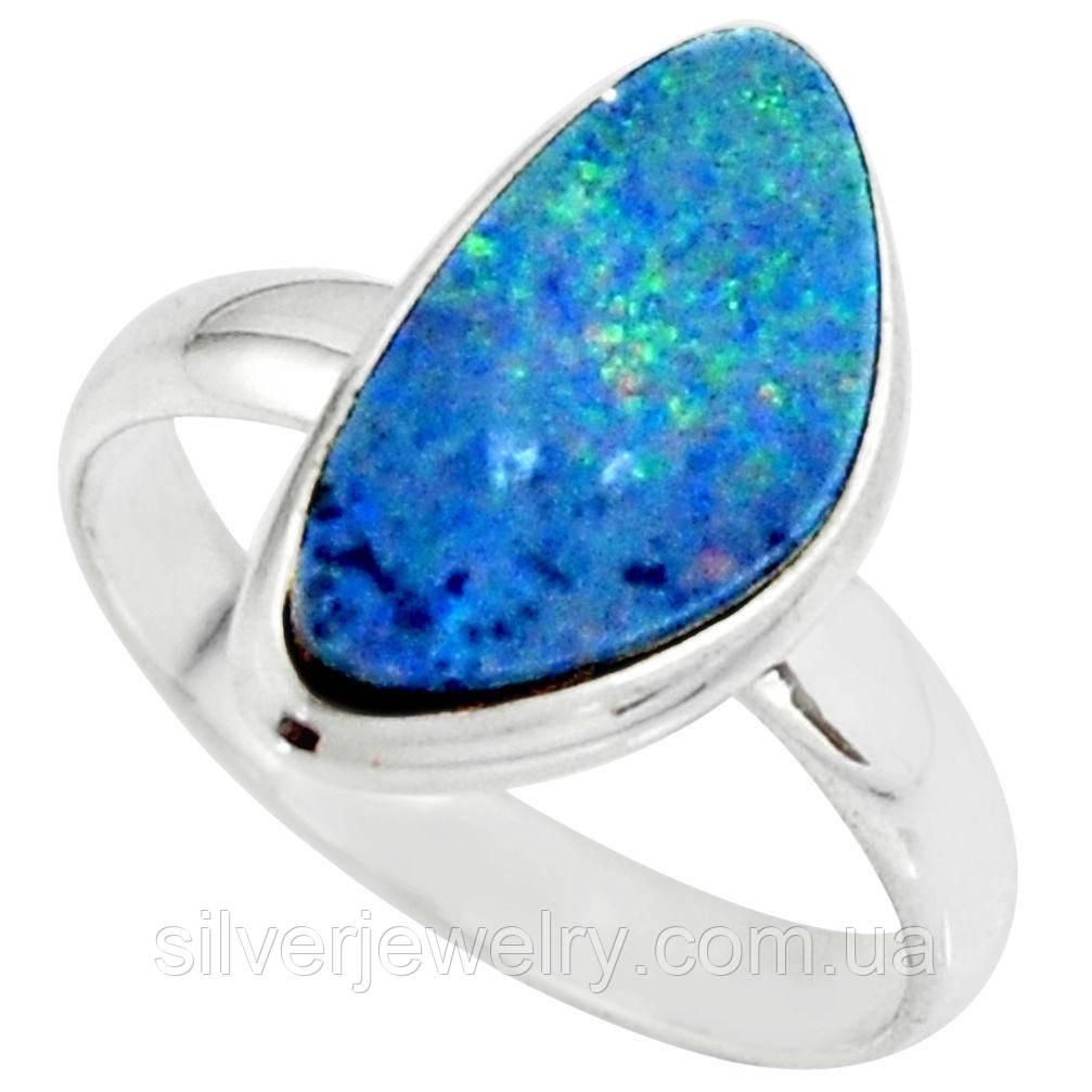 Серебряное кольцо с ОПАЛОМ  (натуральный!!!), серебро 925 пр. Размер 19,5