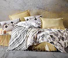 Двуспальное постельное бельё 200х220 Cotton box Ранфорс Stone