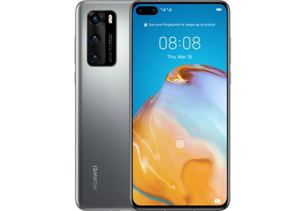 Смартфон Huawei P40 8/128GB Silver Frost HiSilicon Kirin 990 3800 мАч