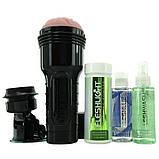 Мастурбатор Fleshlight Pink Lady Original Value Pack: присоска, смазка, чистящее и восстанавливающее, фото 2