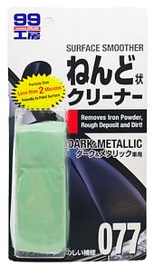Soft99 Surface Smoother Dark & Metallic - Суперочиститель кузова на основе глины для темных авто 150g