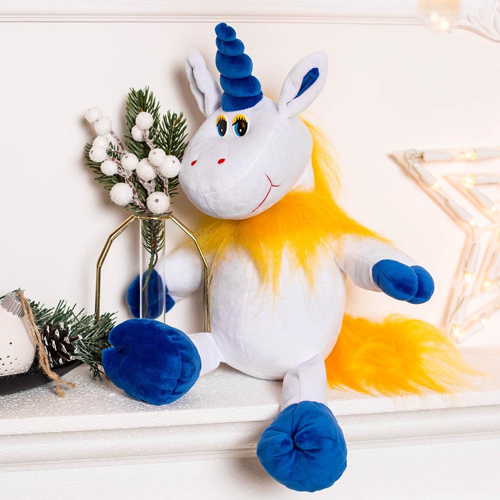 Веселый Единорог мягкая игрушка