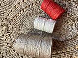 Шпагат джутовый двухниточный для вязания 0,6 кг, фото 9