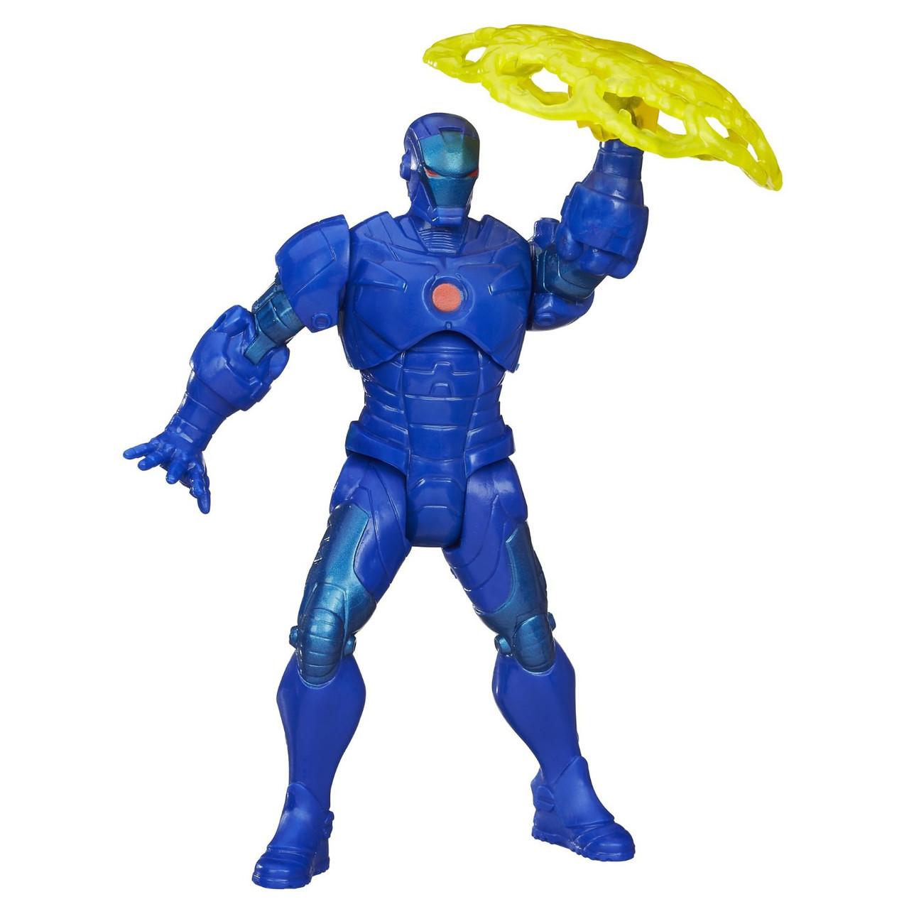 Фігурка Марвел Залізна Людина (Marvel Mighty Battlers Stealth Tech Armor Iron Man)