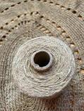 Шпагат джутовый двухниточный для вязания 0,6 кг, фото 10