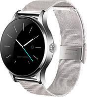 Розумні годинник Lemfo K88H з пульсометром (Сріблястий)