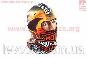 """ПІДШОЛОМНИК """"Harley-Davidson"""" з малюнком"""