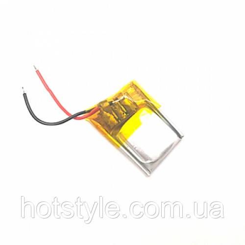 Аккумулятор 301215 Li-pol 3.7В 60мАч для MP3 Bluetooth наушников гарнитур, 101141
