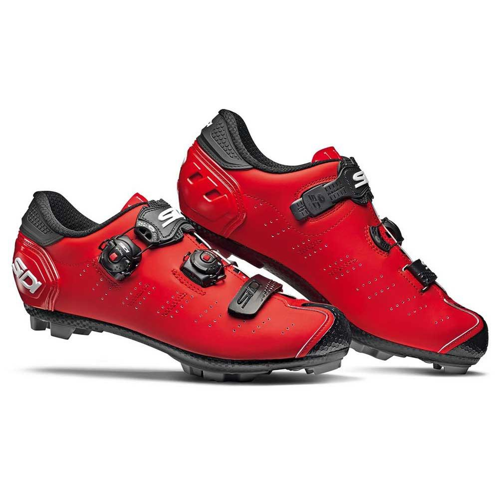 Велотуфли МТБ Sidi Dragon 5 SRS  Matt Red - Black