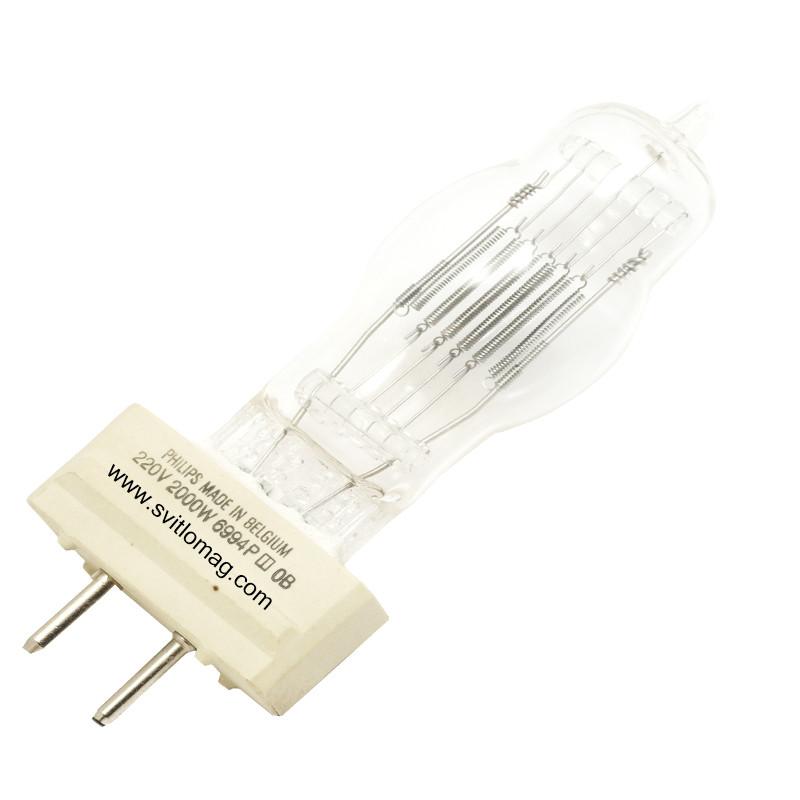 Лампа галогенная 230v - 2000w PHILIPS 6994Р CP/72 GY16