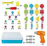 "Конструктор Tu Le Hui ""Creative Puzzle"" 4в1 чемодан на 193 детали, фото 6"
