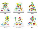 "Конструктор Tu Le Hui ""Creative Puzzle"" 4в1 чемодан на 193 детали, фото 8"