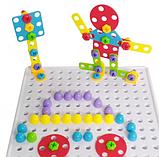 "Конструктор Tu Le Hui ""Creative Puzzle"" 4в1 чемодан на 193 детали, фото 7"