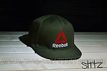 Мужская кепка снепбек Рибок, брендовая кепка Reebok