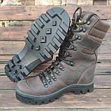 Берци армійські SL-1 коричневого кольору демі/зима, фото 2