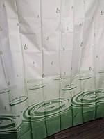Штора для ванной душа тканевая 180х200см, фото 1