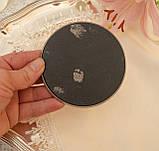 Английская посеребренная подставка под чашку, серебрение, Англия, винтаж, фото 4