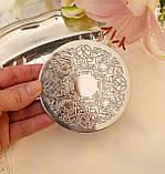 Английская посеребренная подставка под чашку, серебрение, Англия, винтаж, фото 3