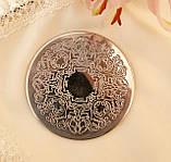 Английская посеребренная подставка под чашку, серебрение, Англия, винтаж, фото 5