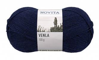 Носочная пряжа Novita Venla.