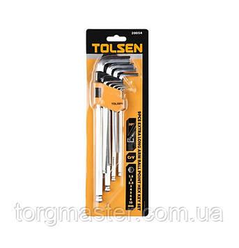 Набор шестигранных ключей Tolsen 20054