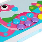 "Конструктор Tu Le Hui ""Puzzle Peg"" чемодан 224 детали | Детский набор мозаика | Конструктор для детей, фото 4"