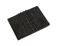 Обложка для паспорта  Ekzotic Leather Черная (cp03_1), фото 1