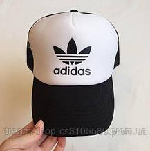 Кепка тракер Адідас (Adidas), літня з сіткою
