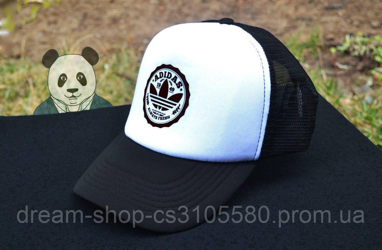 Мужская кепка из сеткой Адидас, летняя кепка Adidas
