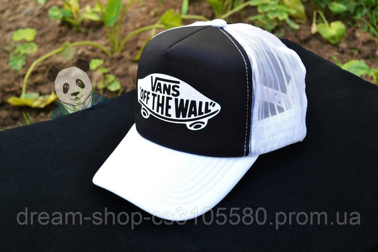 Мужская кепка из сеткой Ванс, летняя кепка Vans