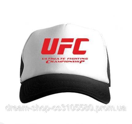Мужская кепка из сеткой ЮФС, летняя кепка UFC