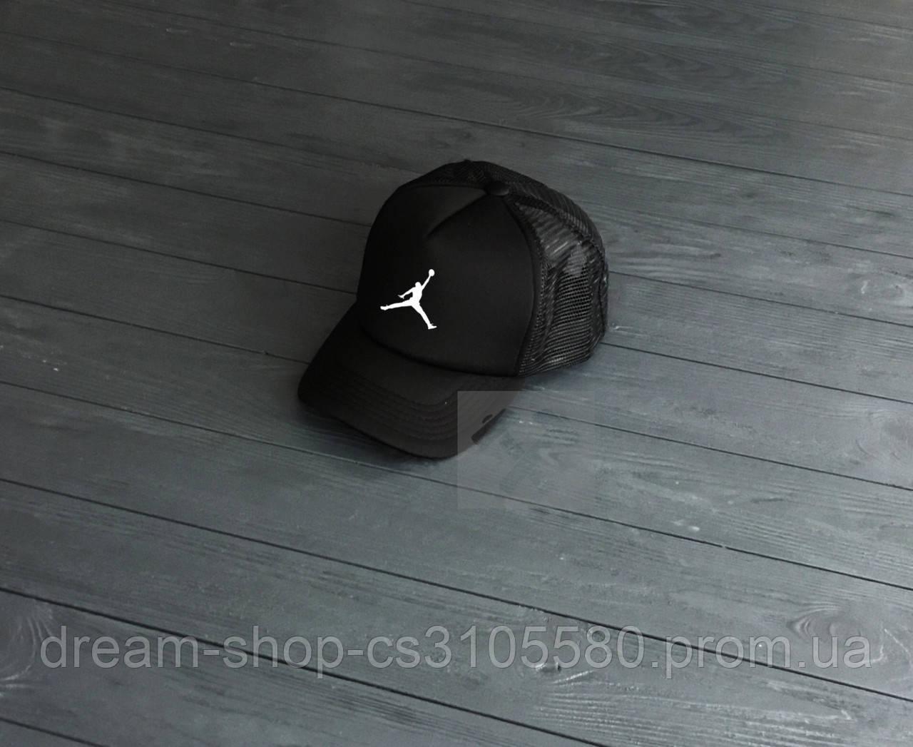 Мужская кепка из сеткой Джордан, летняя кепка Jordan