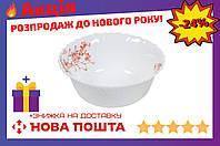 """Миска жар-стекло Maestro - 200 мм """"розовые цветы"""" 6 шт."""